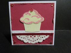 BaRb'n'ShEll Creations  - Cupcake Giftcards - Stampin' Up - Sprinkles of Life - made by Shell