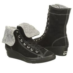 Athletics Converse Women's All Star Hi-Ness X-Hi Black Shoes.com   (Must have these!!)