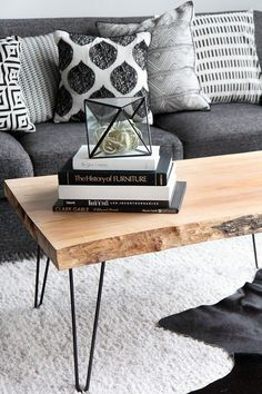 MY DIY | Wood Slab Coffee table | I SPY DIY