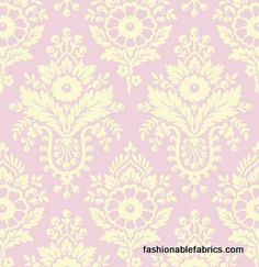 Fabric... Up Parasol Damask in Pink by Heather Bailey for FreeSpirit