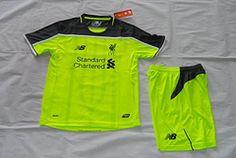 16/17 Liverpool third kids kit. COUTINHO soccer jersey