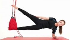 Redcord Side plank