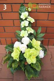 Image result for kompozycje kwiatowe na pomnik jesienne