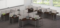 Office cubicles are also the vital furniture pieces that should be made of high quality material and according to your needs. Interior concepts cubicles wall height is important point to note that can be modified easily.