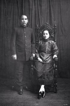 Sun Yetzen and wife