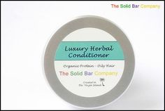 Luxury Herbal Conditioner. The best hair professionals use honeyquat, pro-vitamin B5, hydrolyzed protein and BTMS 50 in their hair conditioners and guess what - we do too!  All our eco-friendly conditioner bars are 100% vegan, sulfate and paraben free, 96% biodegradable, including full USDA Certified Organic ingredients