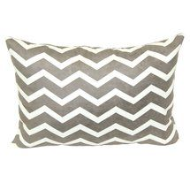 Walmart: Mainstays Chevron Printed Decorative Pillow, Tan 14x20 $9
