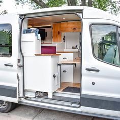 Advice for Building and Living in a Diy Ford Transit Camper Conversion Camper Renovation To have a great looking Ford Transit camper conversion for sale, it must be one of the best that you can find. The reason is simple, the camper has a . Ford Transit Campervan, Ford Transit Connect Camper, Bus Conversion, Ford Transit Camper Conversion, Van Conversion Interior, Van Conversion Wiring, Van Conversion Hacks, Van Conversion Bathroom, Van Life