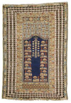 Turkish West/Central Anatolia, Kula, Prayer rug