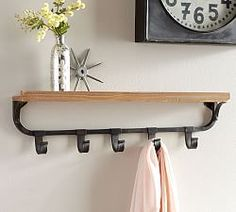 pottery barnu0027s storage hooks and racks keep the entryway neat and stylish find stylish wall hooks and create a welcoming space for family and friends