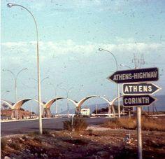 Great Photos, Old Photos, Greece History, Greece Holiday, Athens Greece, Fair Grounds, Colour, Holidays, Retro