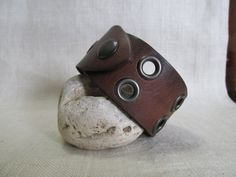 Hey, I found this really awesome Etsy listing at https://www.etsy.com/listing/222389986/mens-leather-cuff-repurposed-upcycled