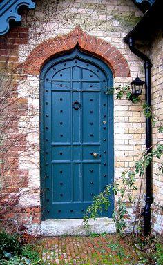 cottage door by niznoz, via Flickr