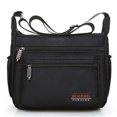 Only US$32.96 shop men women nylon waterproof fashion travel crossbody bag at Banggood.com. Buy fashion crossbody bags online. - Banggood Mobile