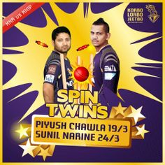The spin twins have managed to restrict #KXIP to 132/9.  Let's win this match riders. Shout out: #KorboLorboJeetbo #OneTeamOnePledge