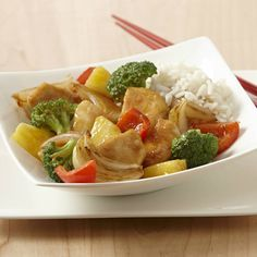Learn to make Honey Pineapple Chicken Stir-Fry. Read these easy to follow recipe instructions and enjoy Honey Pineapple Chicken Stir-Fry today!