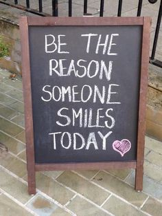 Make someone smile!