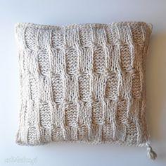 • Poduszki • Handmade dom. Poduszka, wełna, poszewka, handmade