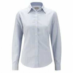 Schoffel Oxford Cotton Shirt Blue www.hadfieldguns.com