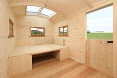 Wohlfühlwagen mit Bad, Küche & Schlafbereich