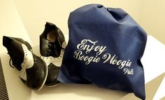 Dance - Schuhbeutel - individualisierbar! Boogie Woogie, Dance Shoes, Blue, Bags, Gifts