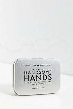 #holidaygiftguide #2015 #men Men's Society Handsome Hands Manicure Kit