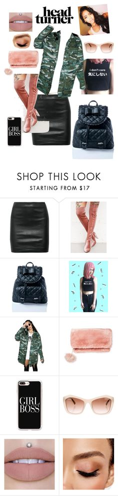 """Untitled #58"" by shawnice-hawkins ❤ liked on Polyvore featuring The Row, Glamorous, Sugarbaby, Disturbia, Who What Wear, Casetify, Chanel and Avon"