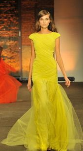 Christian Siriano. Love the design, but not crazy about the color.