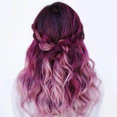 beautiful, girl, pink, pretty, unique
