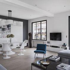Longchamp #Apartment by Frederic Flanquart in Paris #France Photo Via @Millionaires.Choice!  Ludo Martin #designandlive by designandlive