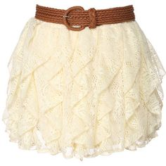 Lace skirt love!