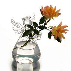 Glass Angel Bud Vase – The Faithful Home