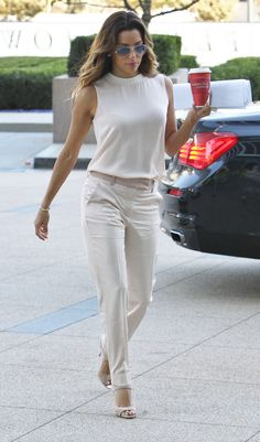 Eva Longoria - Out & About in Century City 5 November 2013