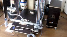 3D Klei Printer, betonplex, arduino, aluminium