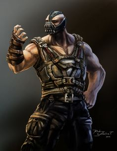 Bane by BLACKSADD.deviantart.com on @deviantART
