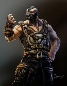 Bane by BLACKSADD.deviantart.com on @deviantART