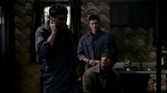Jensen Ackles, Jared Padalecki, Jeffrey Dean Morgan, Supernatural