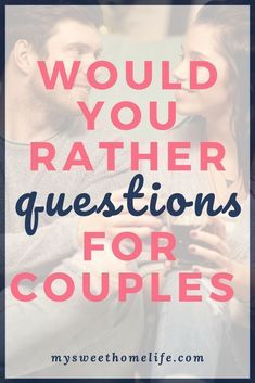 100 would you rather questions for couples. 100 would you rather questions for couples that range from fun to dirty to hard to answer… have fun with these on your next date night! Fun Couple Games, Question Games For Couples, Questions For Married Couples, Fun Couple Activities, Text Games For Couples, Fun Couple Questions, Couples Quiz, Date Night Ideas For Married Couples, Games For Two People