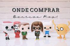 #Shop | Onde comprar Bonecos Pop! da Funko