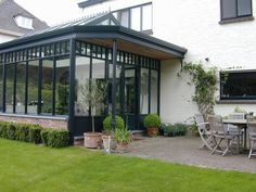 Image result for steel window conservatory