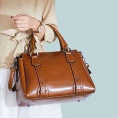 Crossbody Tote, Crossbody Shoulder Bag, Shoulder Bags, Leather Satchel, Leather Handbags, Leather Bags, Pu Leather, Work Handbag, Tote Bags Handmade
