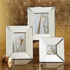 Mirrored Frames   west elm