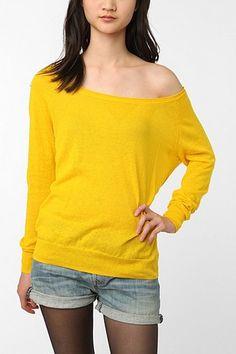UrbanOutfitters.com > Sparkle & Fade Lightweight Linen Sweater