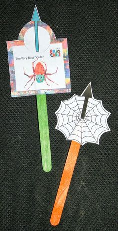 Classroom Freebies: The Very Busy Spider Grammar Cards