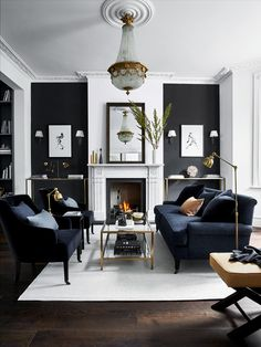 Fabulous Gorgeous Black Living Room Ideas With Gorgeous Black Living Room Ideas. Trendy Gorgeous Black Living Room Ideas With Gorgeous Black Living Room Ideas. Fabulous Gorgeous Black Living Room Ideas With Gorgeous Black Living Room Grey, Living Room Sets, Living Room Interior, Home And Living, Cozy Living, Grey Room, Black White And Grey Living Room, Black Living Room Furniture, Black Rooms