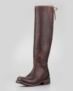 Manchester II Leather Boot by Bed:Stu at Neiman Marcus.