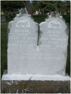 Tools: How to Use Cornstarch to Read Unreadable Cemetery Stones. #genealogy #resources