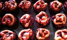 Guts & Gore Cupcakes for those zombie lovers. ;)
