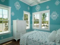 Tiffany Blue Room Ideas Dreamy Florida Home Rare Beautiful Treasures