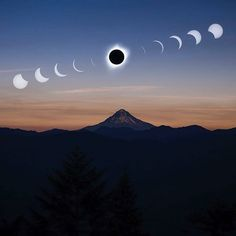 So the big day finally came and went. All these months of hype, leading up to Aug. 21, 2017 where the solar eclipse began in Oregon. Here are some of the most incredible images we could find capturing the amazing moment!I've never seen so many majestic photos in one day captured in our beautiful st